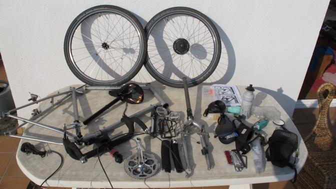 The entire bike gets taken apart. Makes you a pretty good bike mechanic