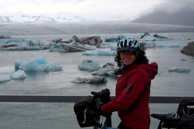 Jan at the lagoon