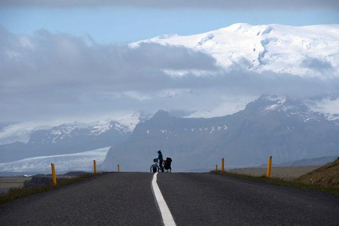 A view of Vatnajökull