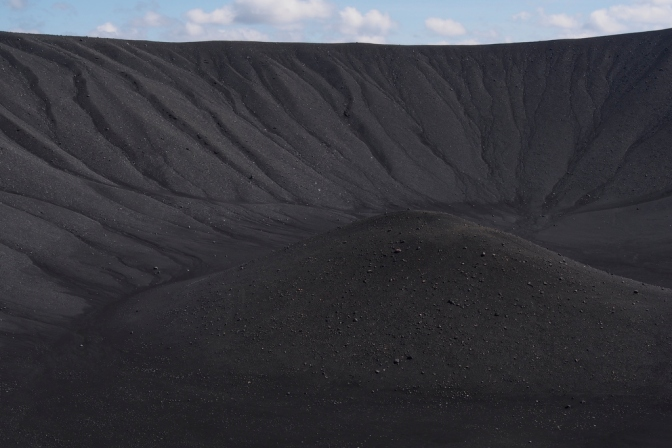 Hverfjall crater at Myvatn