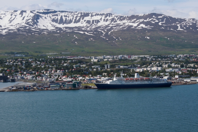 Akureyri, the capital of northern Iceland. Looks a bit familiar