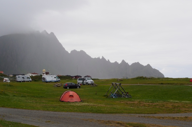 The campground in Andenes.