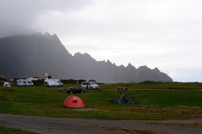 Campsites costs anywhere from 120 to 245 NOK.