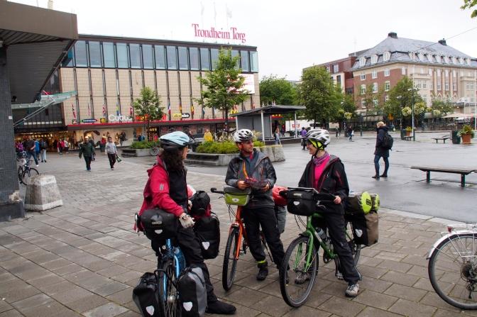 Downtown Trondheim.