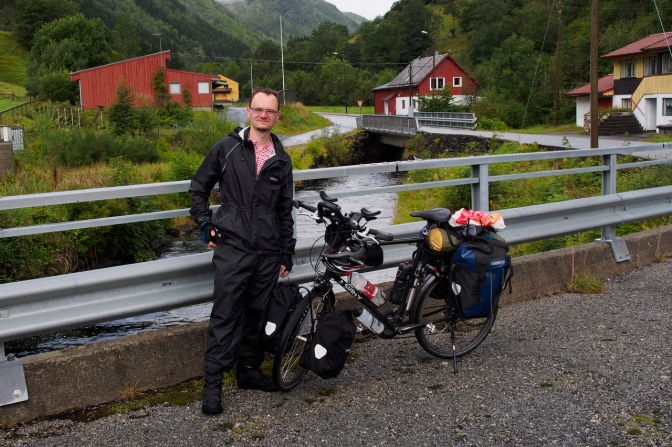 Gijs, a cyclist we met on Hardanger Fjord.