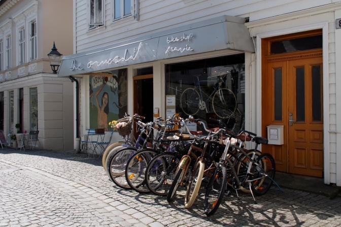 Armadillo Bikes in Bergen.