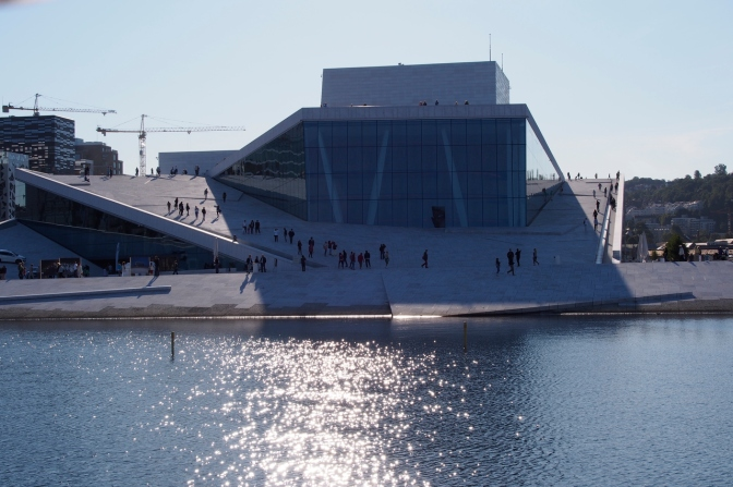 The Opera House in downtown Oslo.
