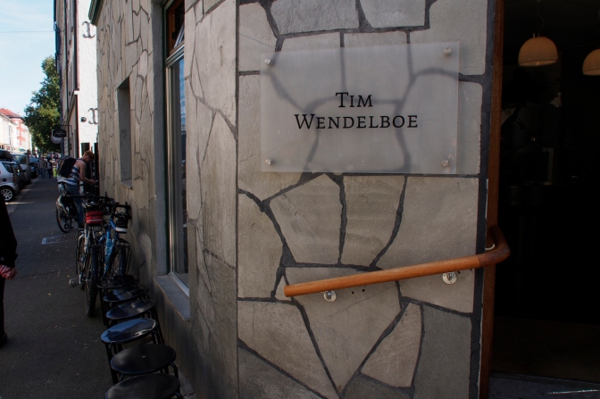 Tim Wendelboe coffee roaster in Oslo.