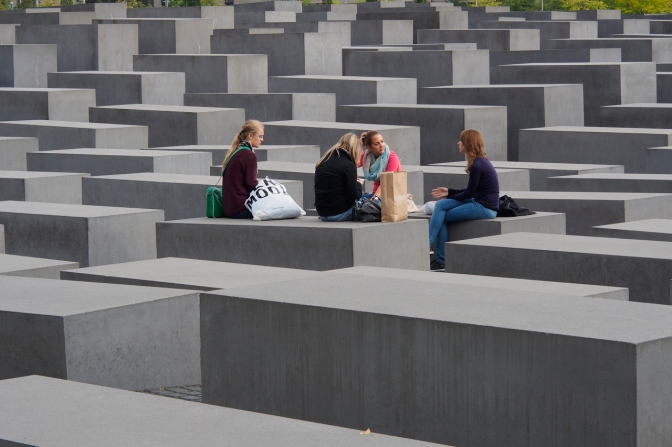 Memorial to the murdered Jews of Europe in Berlin. http://www.holocaust-mahnmal.de/en