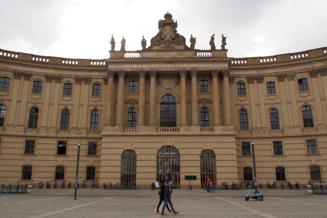 Humboldt University in Berlin.