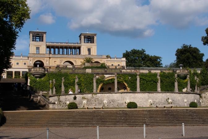 Sanssouci Palace in Potsdam.