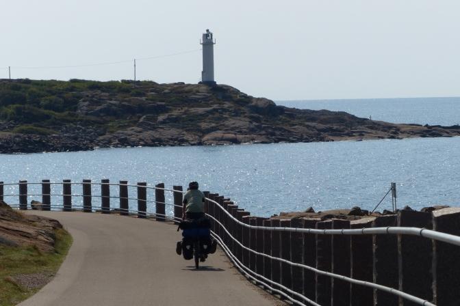 Along the Swedish coast in Halland.