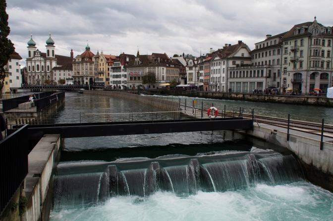 Water management in Luzern.