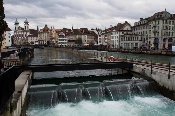 Water management in Luzern.