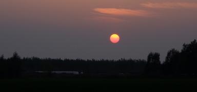 Sunset at Punta Sabbioni.