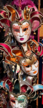 The masks of Venice.