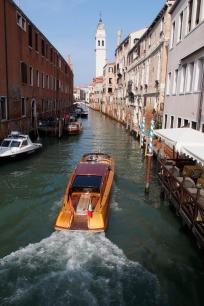 Taxi, Venice style.