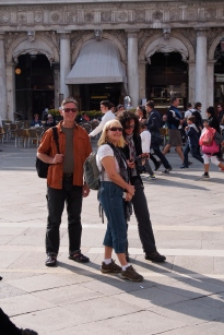 Ivona, Jan and Gary in Piazza San Marco.