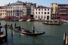 The Grand Canal in Venice.