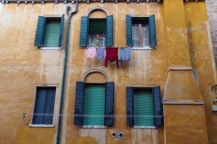 Laundry in Venice.