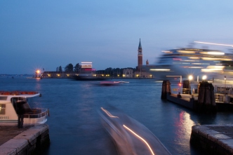 Time exposure at Riva degli Schiavoni.