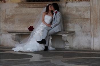 Wedding in Piazza San Marco.