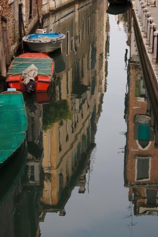Venice reflection.