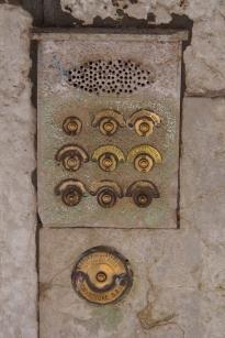 Door bells in Venice.