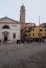 Campo in Venice.