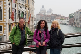 Ivona, Jan and Gary on Ponte della Academia.