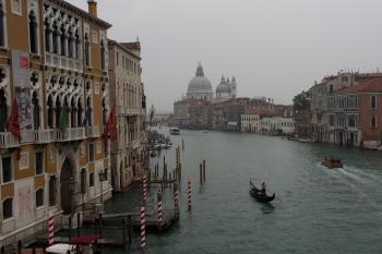 The view from Ponte della Academia.