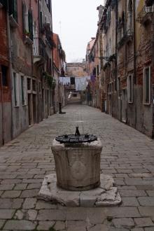 Quiet street near campo de la Celestia.