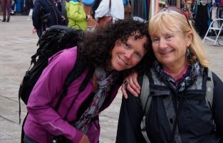 Jan and Ivona tired after three days of gallivanting around Venice.