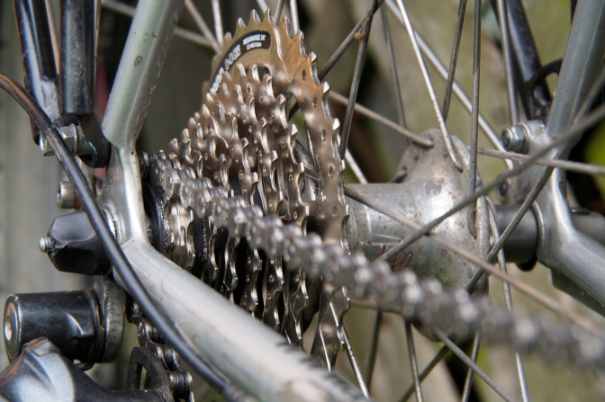 New cassette and chain.