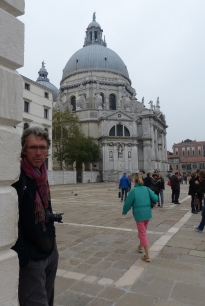 Paul at Santa Maria della Salute.