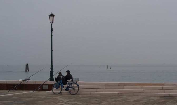 Fishermen on Pellestrina.