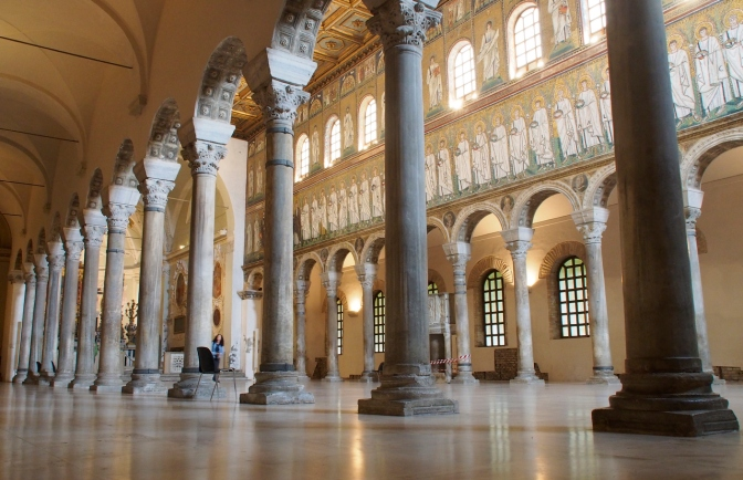 Ravenna mosaics.