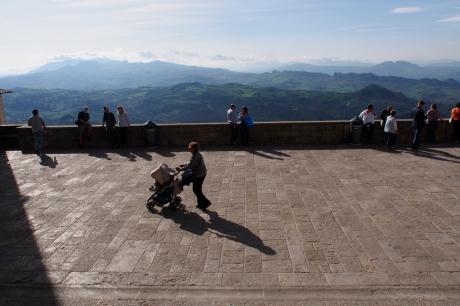 San Marino piazza.