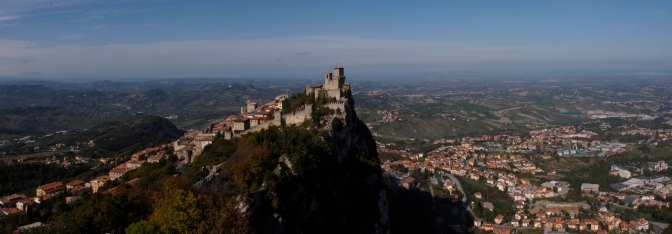 Guaita Tower in San Marino.