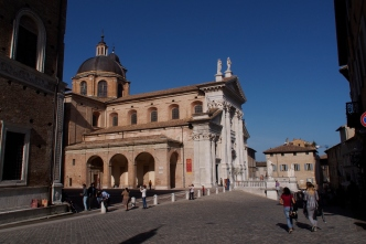 The palace in Urbino.