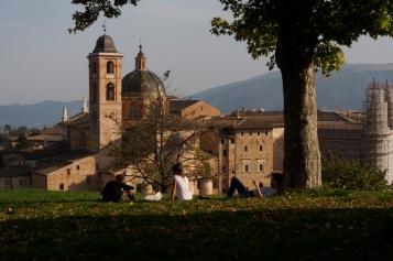 Parco della Resistenza in Urbino.