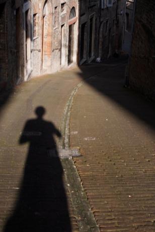 Sundown in Urbino.