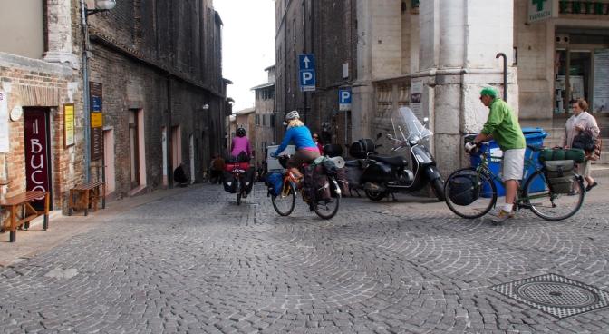 Leaving Urbino.