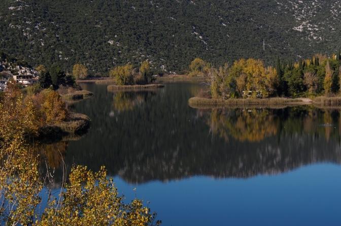 Baćina Lakes near Ploče.