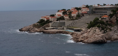 Some nice apartments in another part of Dubrovnik.
