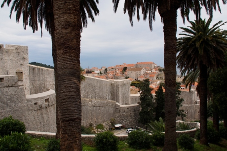 The old city of Dubrovnik.