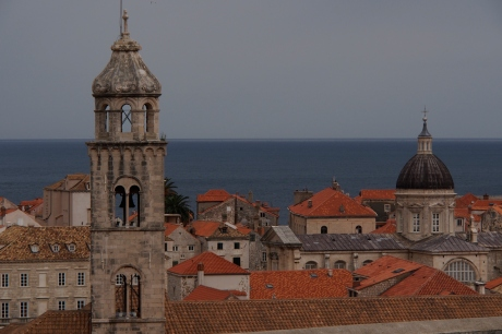 Dubrovnik roof tops.