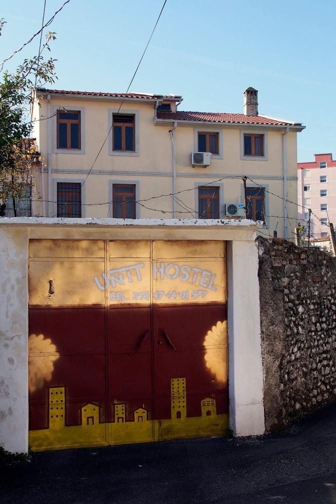 Unit Hostel in Shkodra.