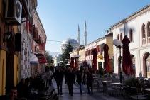 Downtown Shkodra.