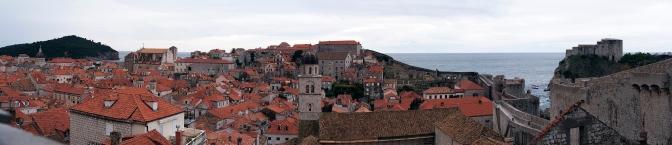 Dubrovnik panorama.